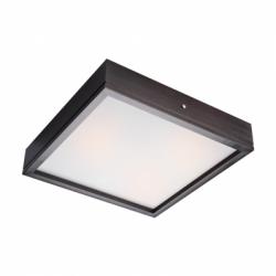 Aplica Agata wenge 3x60W E27, sticla - Iluminat corpuri de iluminat