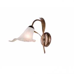 Aplica Kalia negru 1x40W E14, sticla - Iluminat corpuri de iluminat