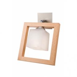 Aplica Martyna rustic 1x40W E14, sticla - Iluminat corpuri de iluminat
