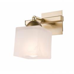 Aplica Klara auriu 1x40W E14, sticla - Iluminat corpuri de iluminat