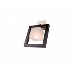Aplica Martyna wenge 1x40W E14, sticla - Iluminat corpuri de iluminat