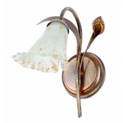 Aplica Kalia maro 1x40W E14, sticla - Iluminat corpuri de iluminat