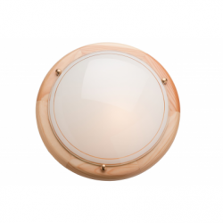 Plafoniera fag, 1x60W E27, sticla - Iluminat corpuri de iluminat