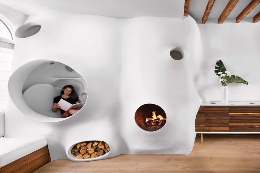 Casa artistei Clarina Bezzola - Amenajarea casei unui artist un motiv bun ca să își dea