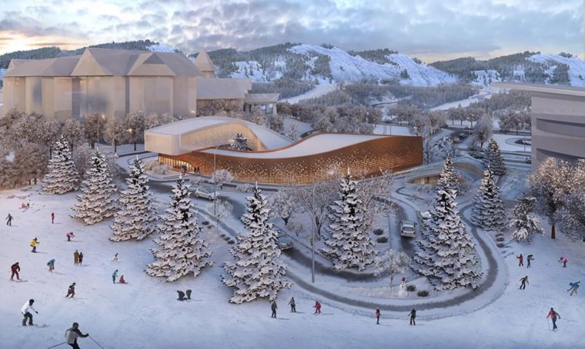 Four Seasons Town Reception Center - Jocurile Olimpice de Iarnă din 2022 vor avea un centru