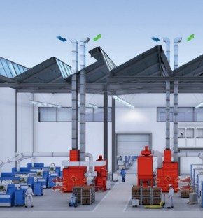 Solutie de sistem pentru hale de productie - Solutie de sistem pentru hale de productie