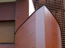 Elemente curbate din HPL pentru fatade ventilate - Elemente curbate din HPL pentru exterior