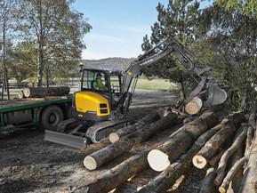 Miniexcavator - ECR50D - Excavatoare compacte - Short Swing Radius - Volvo