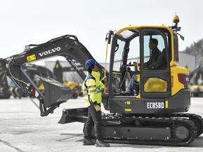Miniexcavator - ECR58D - Excavatoare compacte - Short Swing Radius - Volvo