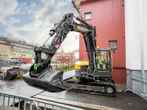 Miniexcavator - ECR88D - Excavatoare compacte - Short Swing Radius - Volvo