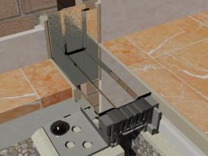 Profil de dilatatie design - Hidroplasto 446/cPL - Profile dilatatie design