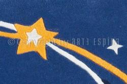 Covor Copii Acril/Fibra Fosforescenta Arte Espina Colectia Spirit 3128-53 - Covoare