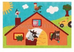 Covor Copii Acril Arte Espina Colectia Sam 4157-52 - Covoare