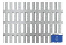 Tabla perforata - Perforatii alungite Lgeq 8x40 - 20x52 - Tabla perforata