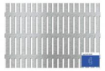 Tabla perforata - Perforatii alungite Lgq 5x50 - 15x60 - Tabla perforata