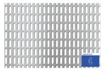 Tabla perforata - Perforatii alungite Lgq 6x20 - 12x24 - Tabla perforata