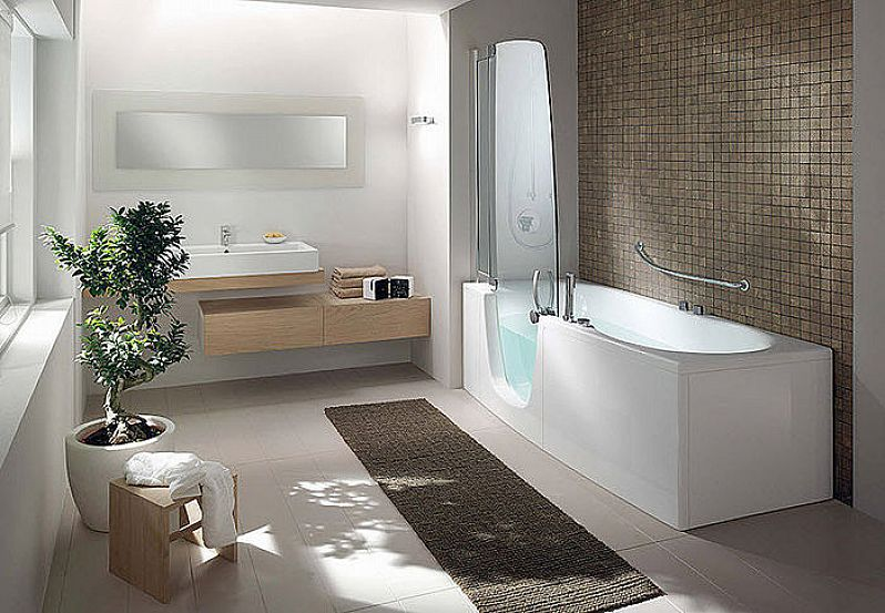 Beautiful Best Images About Aging In Place On Pinterest Walk In Bathtub  Walk In Tubs And Elevator With Large Bathtub Shower Combo.