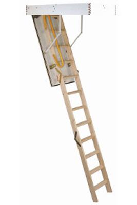 Scara pe structura din lemn Comfortwood - Gama de scari ESCAMOTABILE