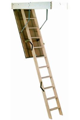 Scara pe structura din lemn Isokit - Gama de scari ESCAMOTABILE