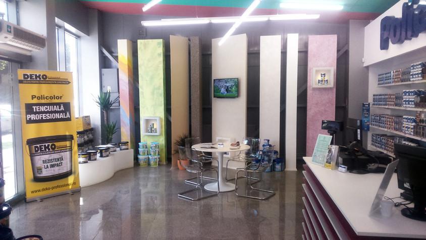 Policolor a deschis la Iași un showroom în care a investit 50 000 de euro -