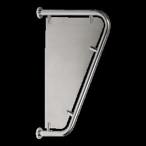 Perete despartitor pentru pisoare din otel inox - SLZN 13 - Despartitoare