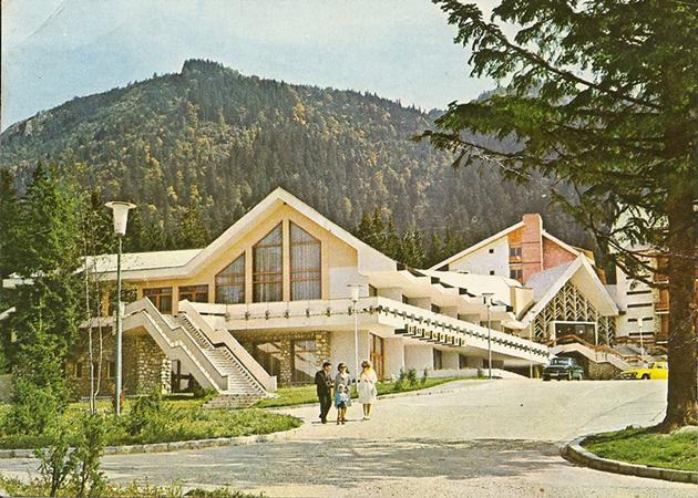 Hotelul Teleferic in anii '80 - Hotel Teleferic din Poiana Brasov - culoare, lemn, traditie