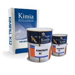 Sistem tixotropic pe baza de epoxiciment - Kimitech ECF - Rasini epoxidice