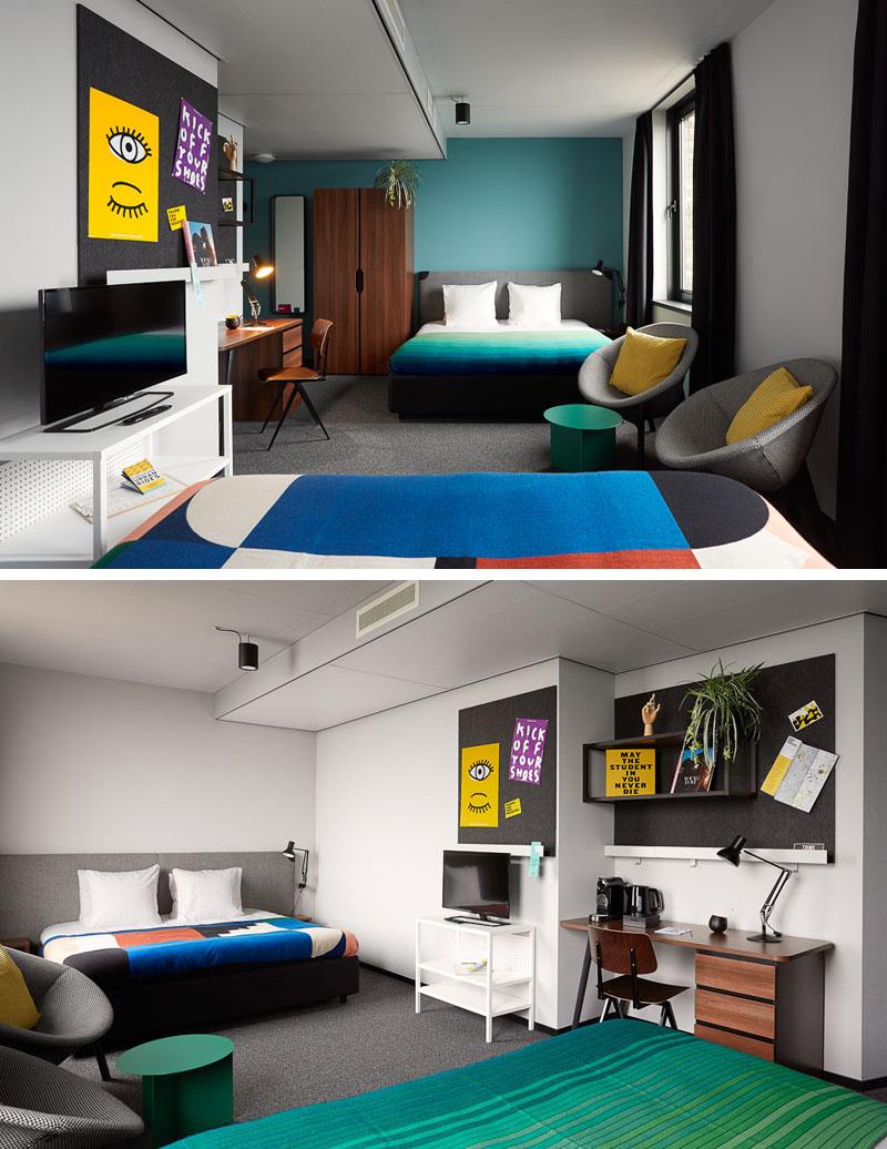 Un hotel studențesc, vesel și colorat - Un hotel studențesc, vesel și colorat