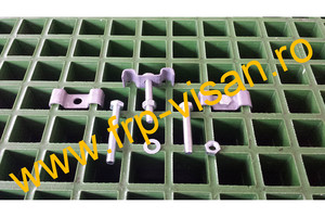 Gratar compozit plastic FRP fibra de sticla gratar metalic - Gratare comozite
