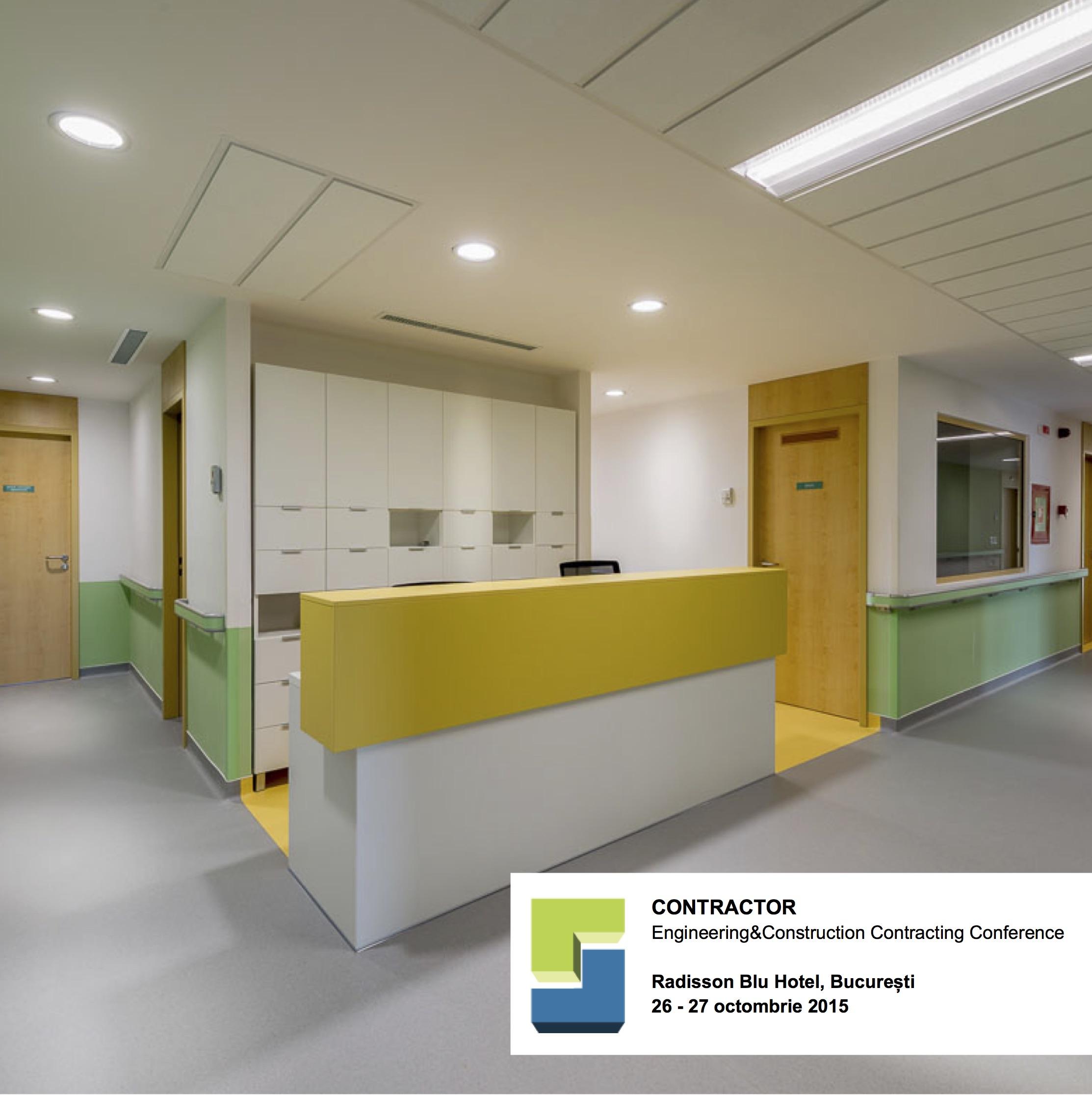 Cel mai mare spital privat de recuperare din tara prezentat la CONTRACTOR - Cel mai mare