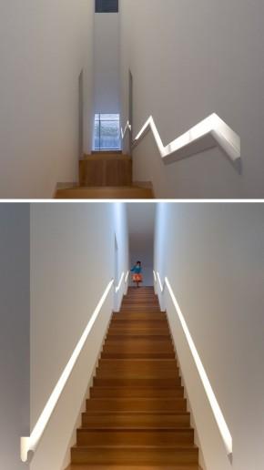 Idei pentru scari – exemple de balustrade incastrate - Idei pentru scări - exemple de balustrade încastrate