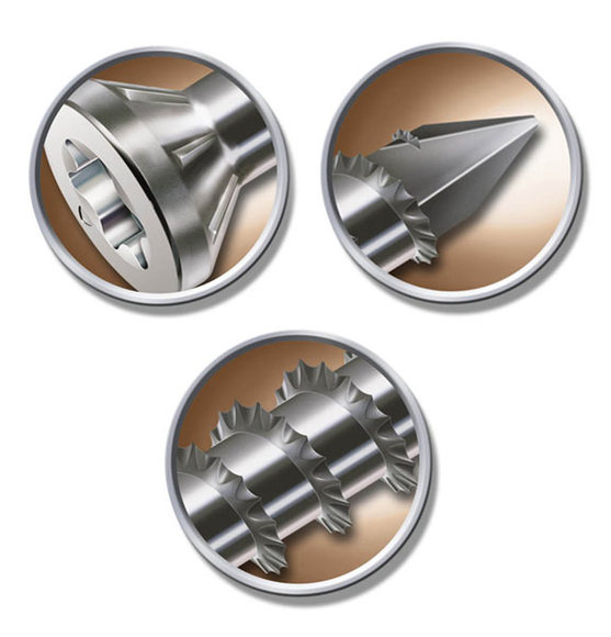 SPAX Universal acum disponibil in toate dimensiunile de la 3 5-6 0 mm cu varf 4CUT