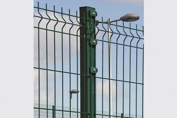 Triton - panou bordurat pentru gard - Panouri pentru garduri metalice