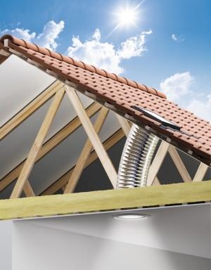 Tunel solar flexibil TWF - Tuneluri solare pentru acoperis inclinat
