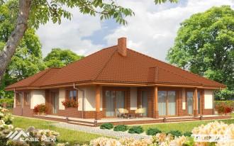 Casa pe zidarie ceramica - Marius - Casa pe zidarie Porotherm