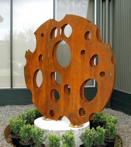 Sculptura din tabla din otel Corten - Tabla din otel