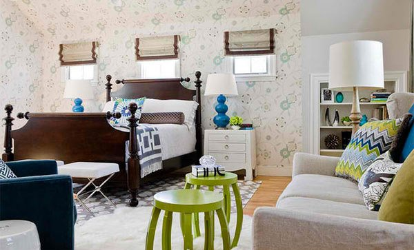 Prospetime in amenajare: dormitoare in verde si albastru - Prospețime în amenajare: dormitoare în verde și albastru