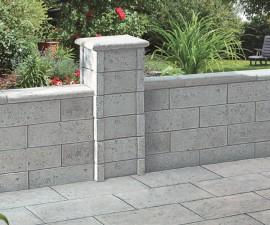 Sistem de placaj - Bradstone Argento - Garduri - SEMMELROCK