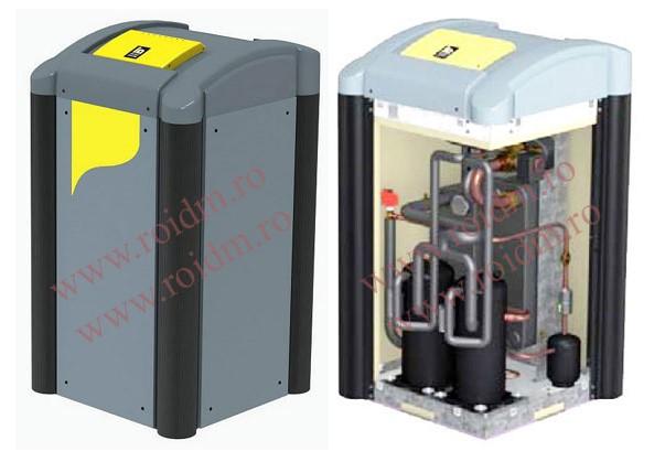 Pompa de caldura apa - apa TERRA SW 8-17 HGL completa - Pompa de caldura apa