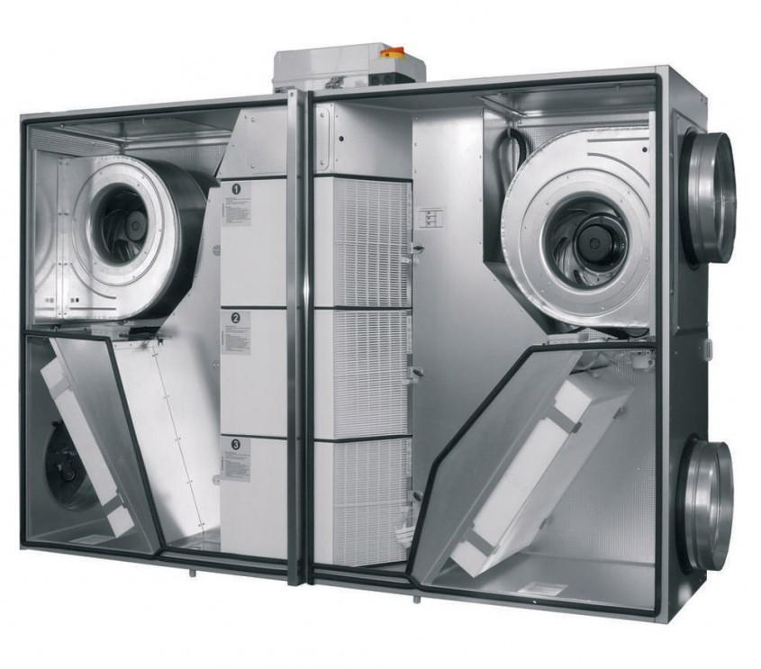 Unitate de ventilatie DUPLEX Flexi ATREA - Ventilatie cu recuperare de caldura propusa pentru spatiile de