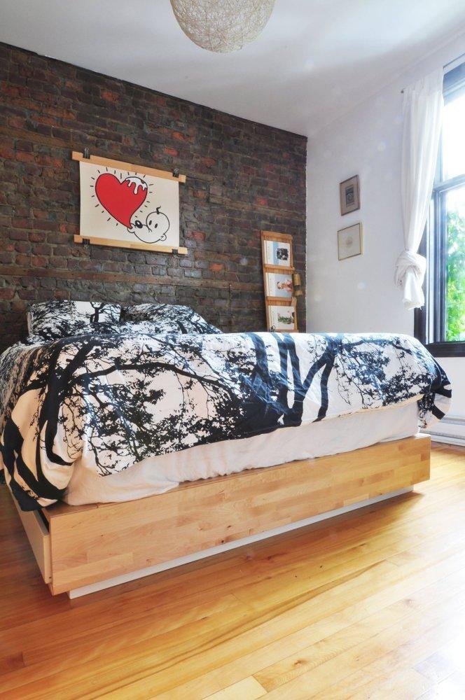 Apartament eclectic in Montreal - Apartament eclectic in Montreal - dormitor