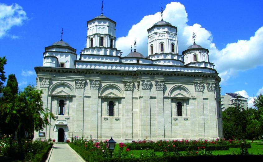 Manastirea Golia, Iasi - Consolidari structurale cu sisteme compozite - biserici monument