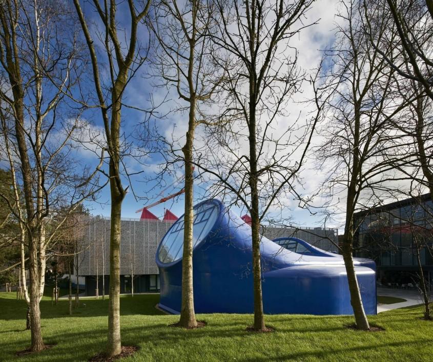 Galeria Kunsthaus - 7 arhitecți cărora nu le-a fost frică de culoare