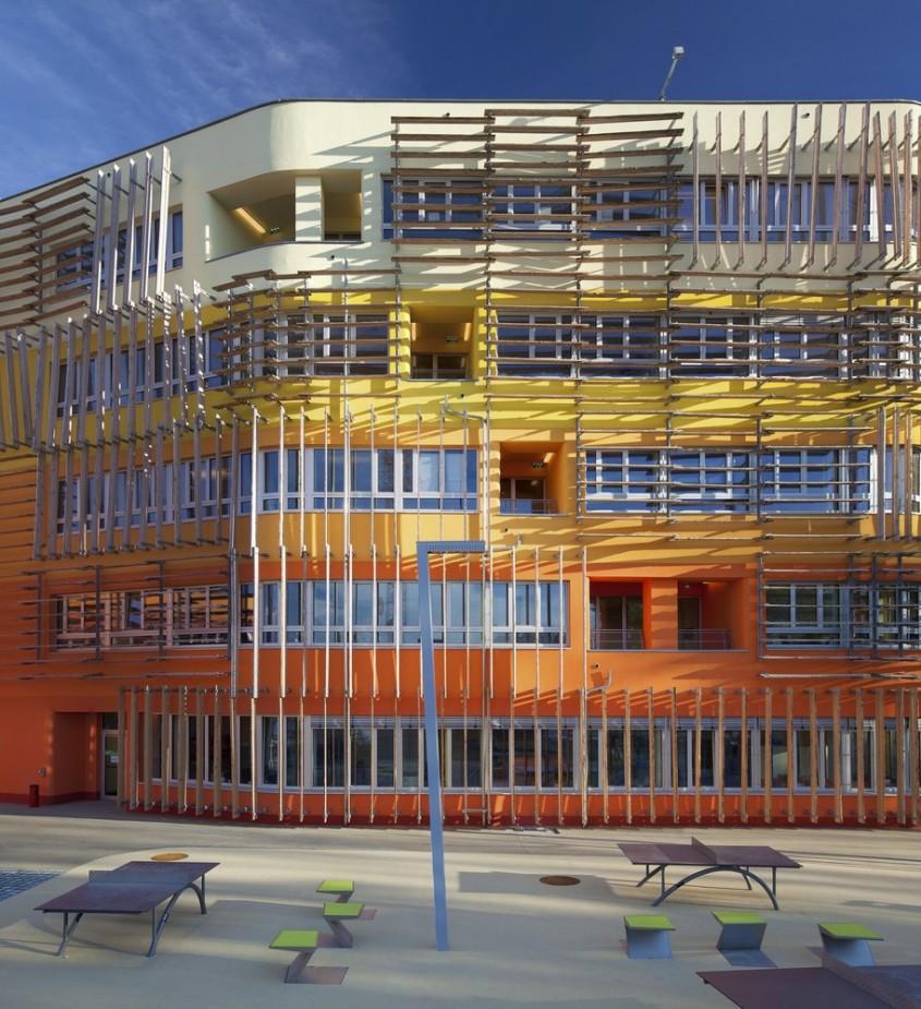 Departamentul Central de Administratie din Viena - 7 arhitecți cărora nu le-a fost frică de culoare