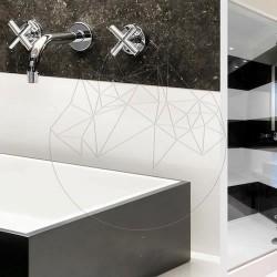 Marmura Thassos Polisata 60 x 30 x 2 cm - Commercial - Marmura
