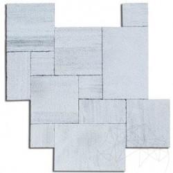 Marmura Kavala Cross Cut French Pattern Buceardata 2 cm - Marmura