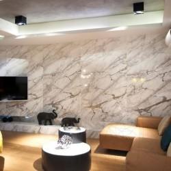 Marmura Calacatta Lucina Vein Polisata 60 x 30 x 2 cm - Lichidare Stoc - Marmura