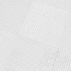 Marmura Thassos Coco Line 15 x 15 x 1 cm - Marmura