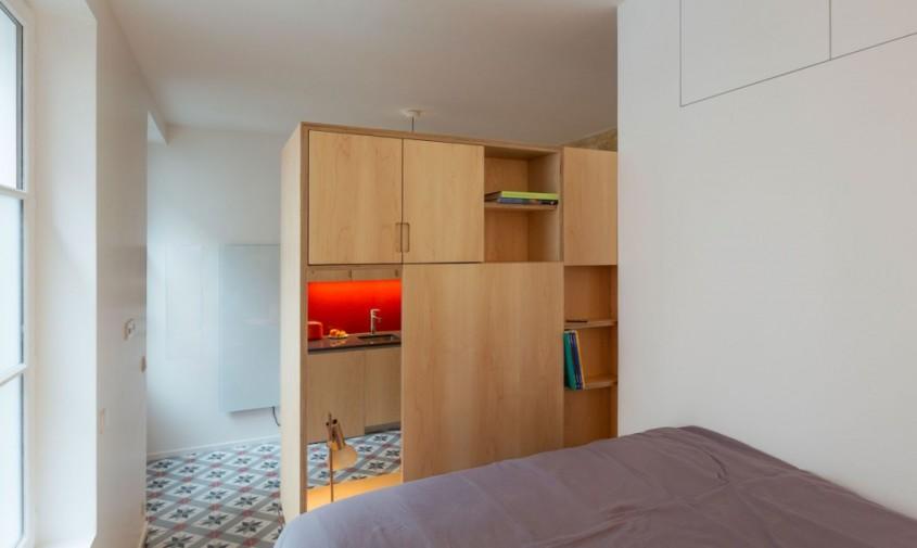 Un apartament din sec al XVII-lea devine un studio spatios - Un apartament din sec al