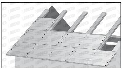 Recomandari pentru realizarea unei astereli conforme for Roof sheathing material options